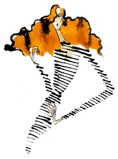 Inked - Josh Bristow fashion illustration