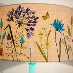 Large 'Meadow Flowers' Lampshade