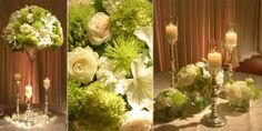 green-wedding-centerpiece-design