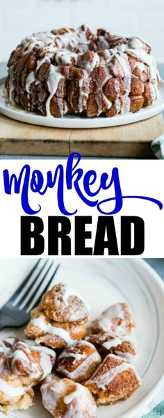 Once you start eating Monkey Bread, it's really hard to stop! This pull-apart bread is soaked in cinnamon, sugar, and butter and couldn't be easier to make.