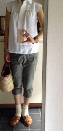 ある日。夏の冷えとりファッション - 雑貨と写真とコトノハ日記 くらしのたのしみ