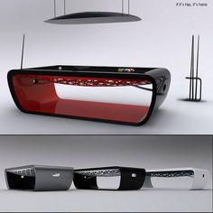 Toulet Black Light Billiard Tables IIHIH