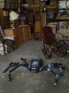 Next year I'll make a giant spider!