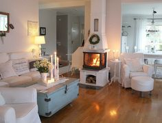 Shabby and Charme: Nordic style - una splendida villa svedese