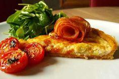 ελαιόλαδο Quiche Lorraine, French Toast, Bacon, Chicken, Meat, Breakfast, Recipes, Food, Pies