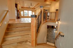 Craftsman Staircase Design Ideas, Pictures, Remodel and Decor