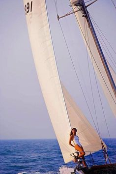 #sailing girl