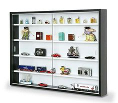 Colista Wall Mounted Display Cabinet. Display ShowcaseGlass ...