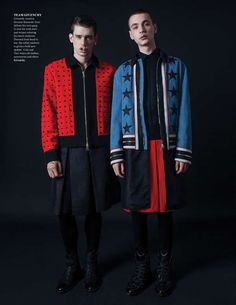 The Fashionisto Fall 2012 Cover Story Showcases Autumnal Menswear #punk #fashion trendhunter.com