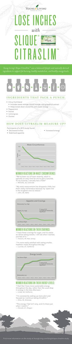The Results Are In: See How Slique CitraSlim Measures Up! [Infographic]