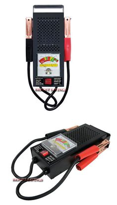 Battery Testers: Schumacher 50 100 Amp 6 12 Volt Battery Load Tester -> BUY IT NOW ONLY: $31.35 on eBay!