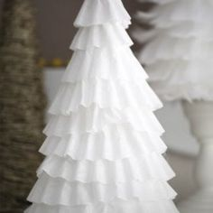 DIY coffee filter tree idea
