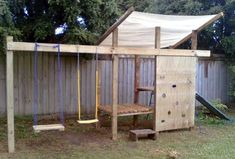 Zen Kid DIY Playsets; lots of links for DIY play structures