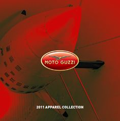 Moto Guzzi 2011 Apparel Collection - Brochure Cover #motoguzzi #moto #guzzi #motorbike #motorcycle #apparel #collection