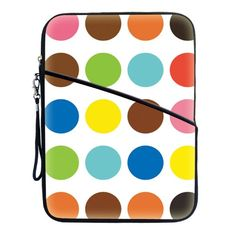 Thick Bubble Neoprene Sleeve Cover Case w. Accessory Pocket for Kindle Fire HD 8.9