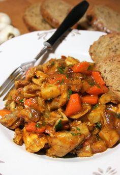 sio-smutki! Monika od kuchni: Potrawka z kurczaka i warzyw z rosołu Kung Pao Chicken, Smoothies, Meat, Cooking, Ethnic Recipes, Food, Gastronomia, Chicken, Smoothie