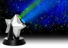Laser Stars Projector Light Show Night Sky Blue LED Nebula Cloud NewAge NewAje