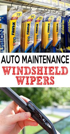 Great information on windshield wiper maintenance-- how to shop for, remove, & install wipers and some wiper tips!