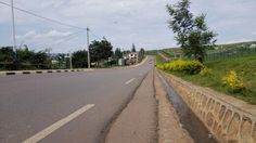 Kigali was rated as one of the cleanest city. One of the streets