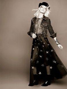Chanel 2014 pre-fall lookbook // Ashleigh Good // Karl Lagerfeld
