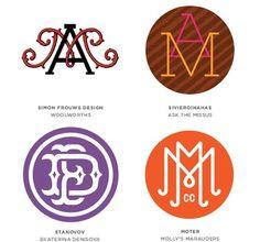15-monograms, logos, tendencias para el 2013-2014