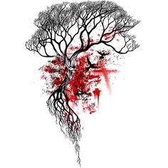 Resultado de imagen para dead tree tattoos