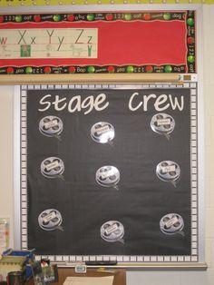 hollywood classroom theme | Hollywood Theme Classroom- This is my Job Board