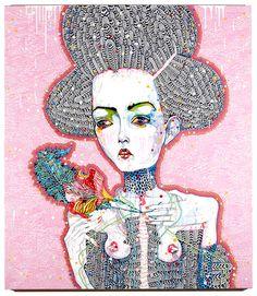 Image result for del kathryn barton artworks