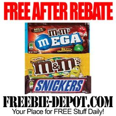 FREE AFTER REBATE – Candy at CVS - Exp 5/31/14