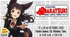 """Convención Videojuegos, Cómics, Anime y Manga """"Festival Akatsuki"""" 2015"""