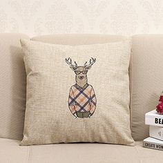 Baixun Sweater deer? Cotton Linen Square Throw Pillow Cas... https://www.amazon.com/dp/B015ZIHNH4/ref=cm_sw_r_pi_dp_x_aIXbAbK14KNV5