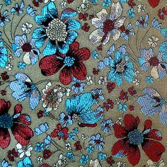 150 x 90 CM! stof brokaat borduurwerk fijn van Fabric wonderful ! op DaWanda.com