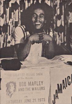 **Bob Marley** Barbizon Plaza Hotel, New York City, NY, USA, June 1975. More fantastic pictures, music and videos of *Robert Nesta Marley* on: https://de.pinterest.com/ReggaeHeart/