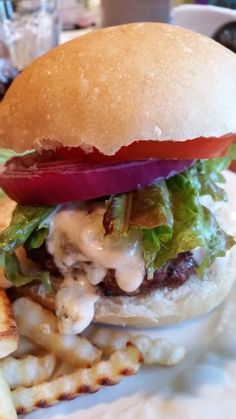 11 Buffalo Blue CHeese Burger - Moore or Less Cooking