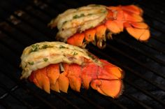 Traeger Grilled Lobster Tails