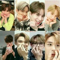 Lucas:Weird but cute😄❤ Ten Chittaphon, Lucas Nct, Album Bts, Funny Kpop Memes, Nct Taeyong, Meme Faces, Jaehyun, Nct Dream, K Idols