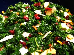 Simple Kale Salad — Faithful Workouts   Christian Fitness