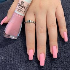 Stylish Nails, Trendy Nails, Cute Nails, Hair And Nails, My Nails, Grow Nails, Nail Paint Shades, Nails Tumblr, Creative Nails