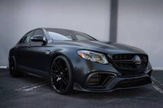 Rate this Mercedes E63 AMG with carbon aerodynamic kit featuring matte coating on a scale from 1 to 10!
