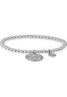 JETTE Silver Damen-Armband Forever 925er Silber 47 Krista…
