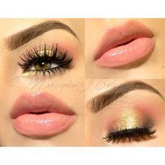Maquillaje clarito :)