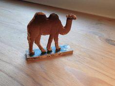 Antique Vintage Erzgebirge Wooden Camel Hand by VintageZipper