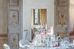 I Saloni Interni di Villa Rota