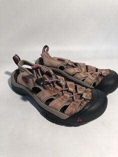 1409f35a5da4 KEEN Womens NEWPORT Waterproof Brown Leather Hiking Sandals Shoes 7-7.5 38   fashion