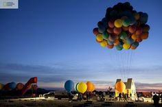 PictoVista: Pixar's Up Movie Recreated In Real Life
