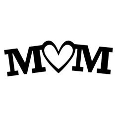 Happy Mothers Day Discover Silhouette Design Store: Heart Flourish With Leaves Silhouette Design Store: love mom