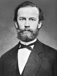 In the XIX century, the German physicist Friedrich Kohlrausch, who worked with extremely pure water, offered a very convenient criterion of its purity. He repeatedly (40 times) distilled the water in a well sealed unit, and then boiled for another 500 hours in a golden flask to release the water from the dissolved gases and first of all from the carbon dioxide. Physical Chemistry, Great Beards, Distilled Water, Physicist, Pure Products, German, Kitchen Tools, Flask, Theatre