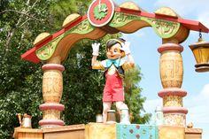 Pinocchio - Celebrate a Dream Come True Parade - Magic Kingdom