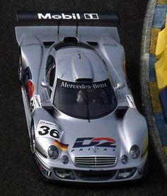 1998 Mercedes-Benz CLK-GTR LM  Mercedes-Benz (6.000 cc.) (A)  Jean-Marc Gounon  Christophe Bouchut  Ricardo Zonta