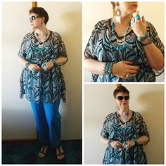 JDS - MY STYLE: Millers kaftan top and pants - @Jeweldivas jewels - details on the blog